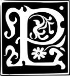 Letter P w-scrolling