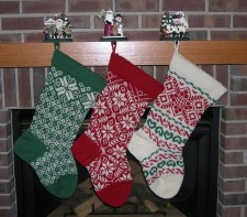 stockings on fireplace 1