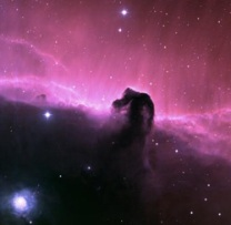 Hubble telescope view of the Horsehead Nebula