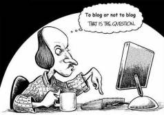 Blogging-shakespeare
